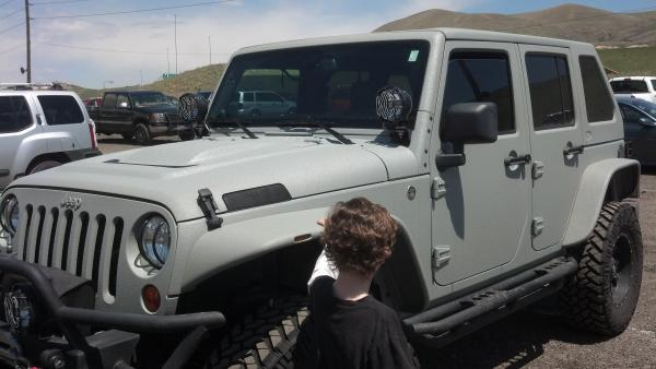 Spray In Bed Liner On Exterior Of Jeep Page 3