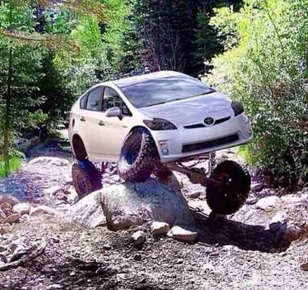 Trail Rated Prius