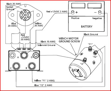 winches: rebuilding, parts information, diagrams, testing sites,Wiring diagram,Wiring Diagram Ramsey 9000 Winch