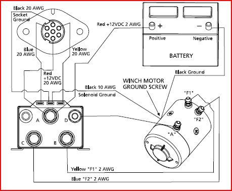 winches rebuilding  parts information  diagrams  testing sites 6 Post Solenoid Wiring Diagram warn winch wiring diagram 2 solenoid